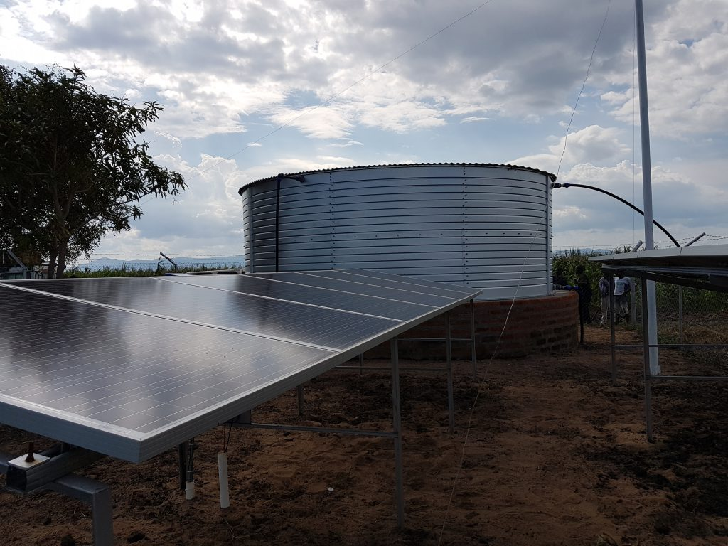 Solar pumping and storage solution